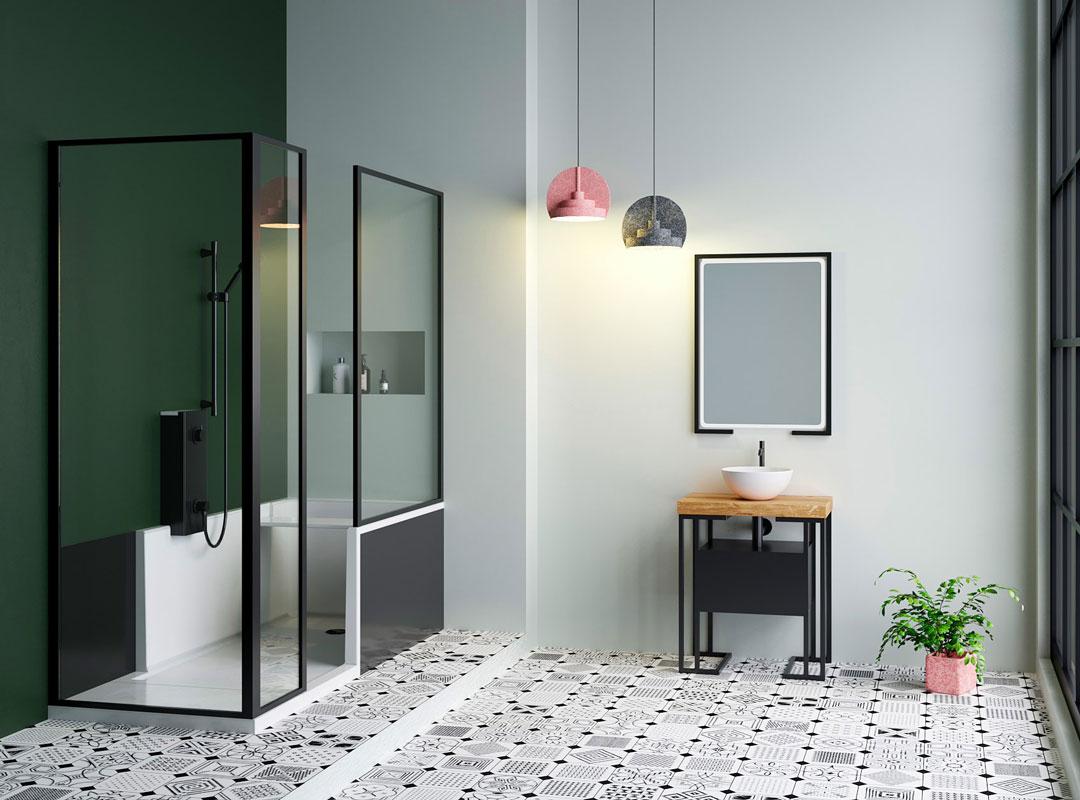 action logement pour douche senior